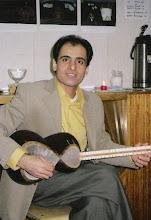 Photo: Farzad Moghaddampour Persialainen kansallissoitin setar. Persiska nationalinstrumentet setar.