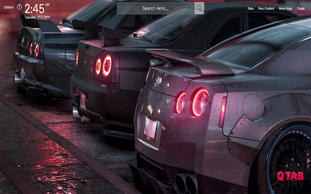 Nissan GTR Cars Wallpapers HD Theme