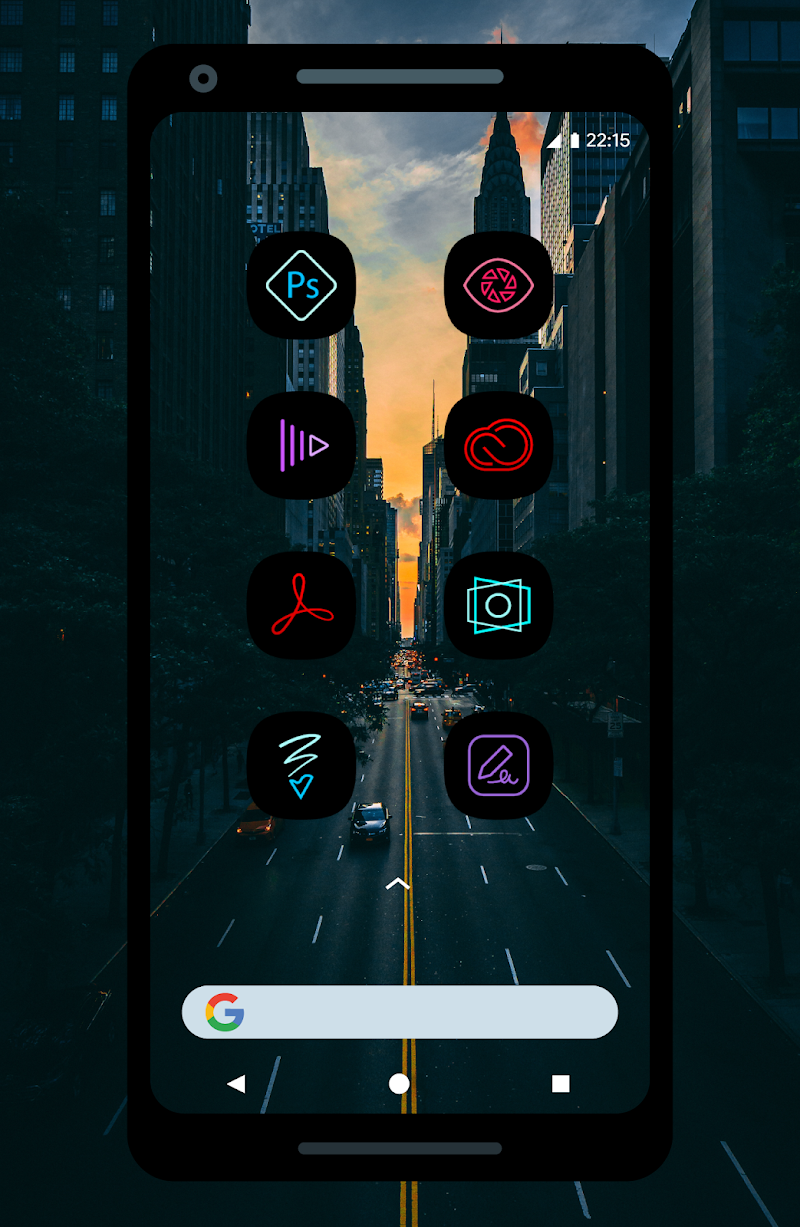 UX Led - Icon Pack Screenshot 2