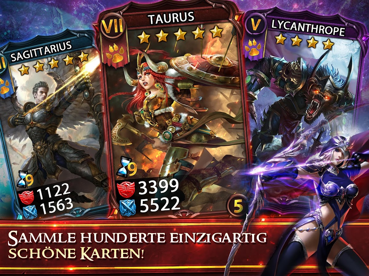 Deck Heroes: Duell der Helden- screenshot