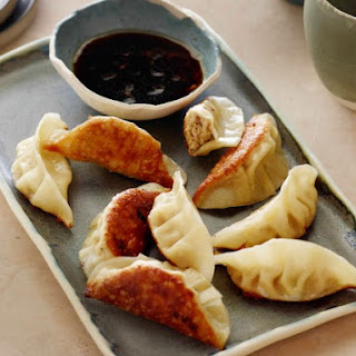 Pork Gyoza with Ginger Dipping Sauce