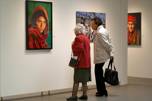 An exhibition of the work by Steve McCurry, an American photojournalist best known for his photograph,