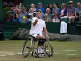 Late break in set 1 en een nagelbijter in tiebreak set 2: Joachim Gérard na spannende match naar finale Wimbledon