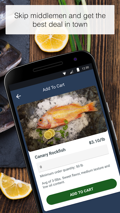 Coastline Market - Fresh Fish- screenshot