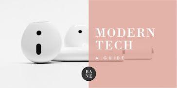 Modern Tech Guide - Twitter Post Template