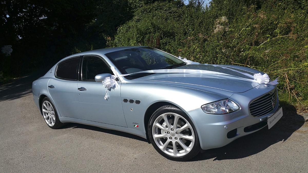 Maserati Quatroportte Hire Bournemouth