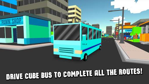 キューブシティーバスシミュレータ3D