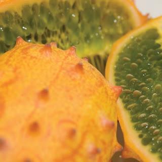 Frozen Horned Melon (Kiwano).