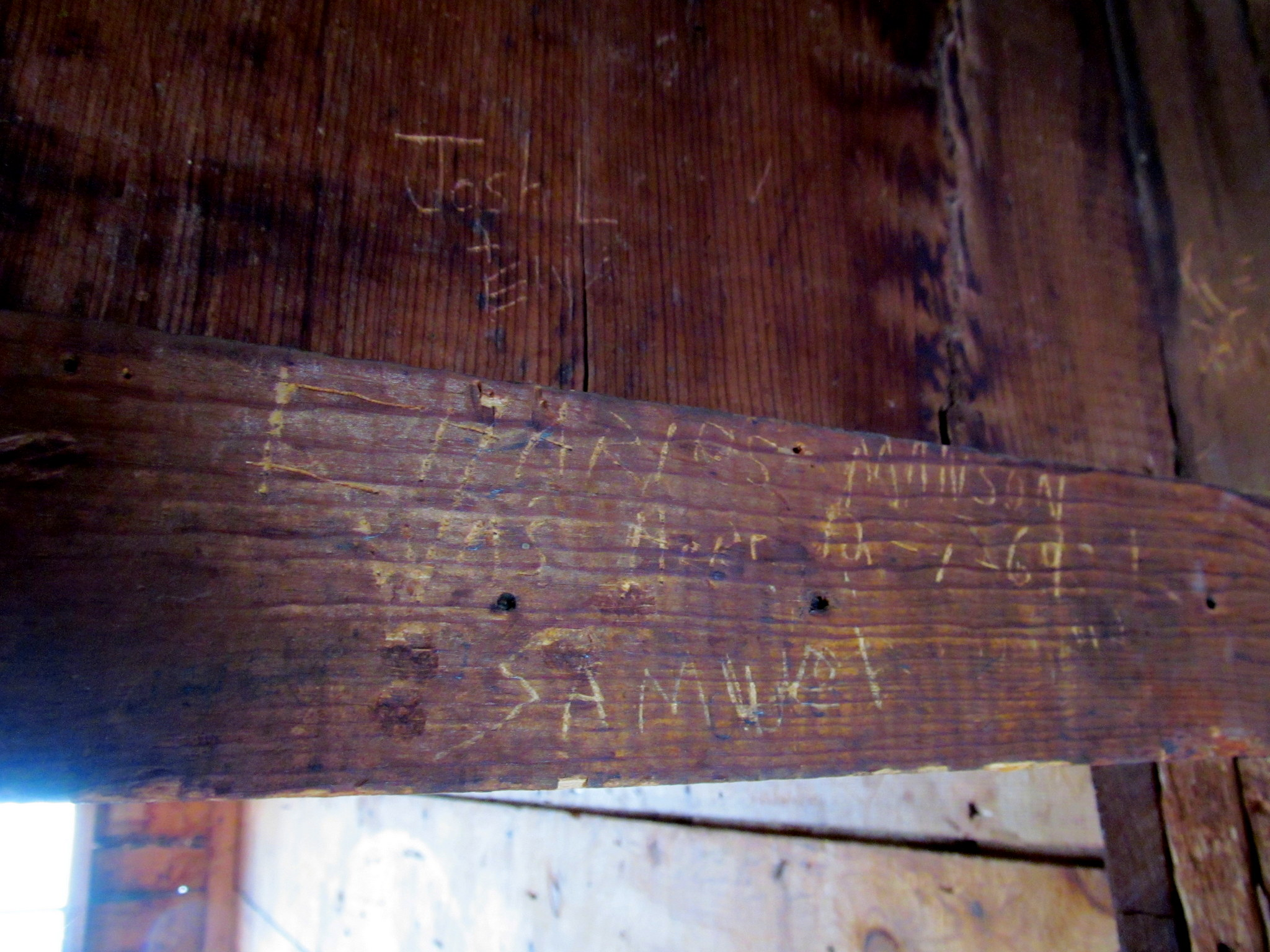 Photo: Charles Manson was here 12-1-69 (probably fake)