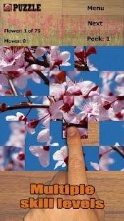 Květiny skládačka - náhled