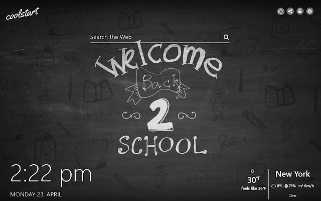 Back To School HD Wallpapers New Tab Theme