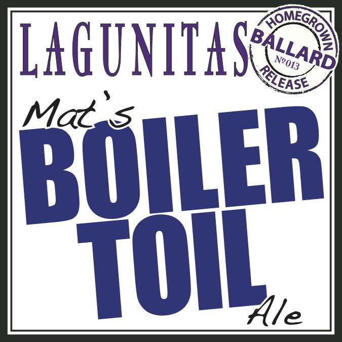 Logo of Lagunitas Mat's Boiler Toil Ale
