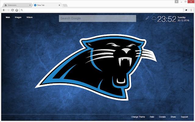 Carolina Panthers Wallpaper Hd Nfl New Tab