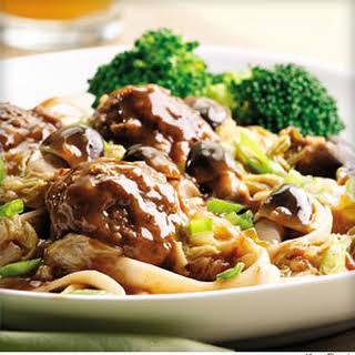 Szechuan Braised Meatballs.