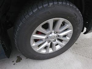 ランドクルーザープラド GDJ151W TZ-Gのタイヤのカスタム事例画像 みーやんさんの2019年01月12日17:15の投稿