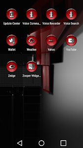 Dap Red - Icon Pack screenshot 5