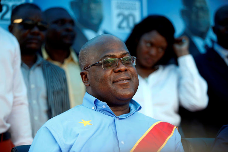Felix Tshisekedi, leader of Congolese main opposition party the Union for Democracy and Social Progress (UDPS) and president-elect.