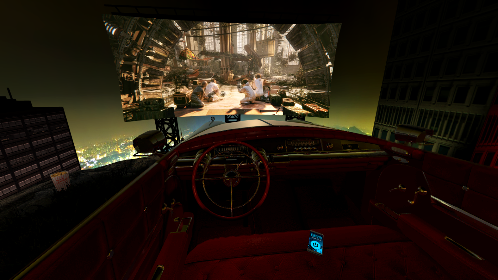 1960 Drive-in Theater - CINEVEO - VR Cinema Player- screenshot