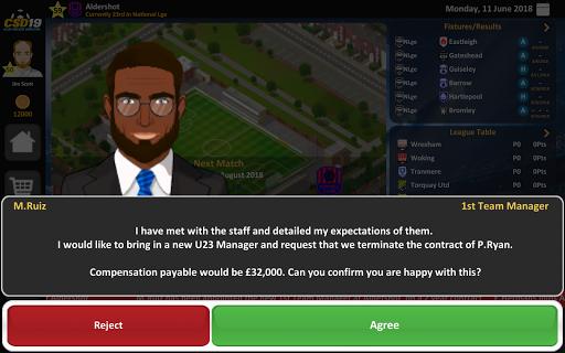 Club Soccer Director 2019 - Soccer Club Management 2.0.25 screenshots 20