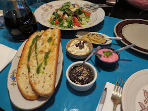 Photo: Bread with spreads