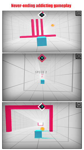 Speedy Box - Reflex Runner screenshot 2