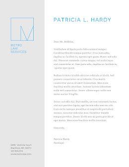 Metro Law Services - Letterhead item