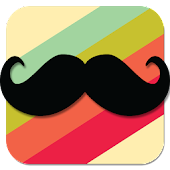 Moustachinator: Add Stickers