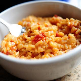 Sun-Dried Tomato Risotto.