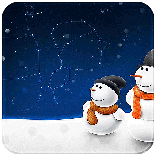 Snow Winter New Year