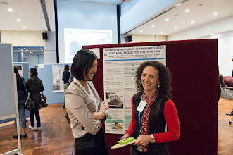 Photo: Doctoral students (Gastroenterology) CK Yao and Marina Iacovou at the poster presentation. http://www.med.monash.edu.au/cecs/events/2015-tr-symposium.html