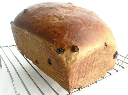 **For 1 loaf of Raisin Bread you can flattened out 1 loaf before placing...