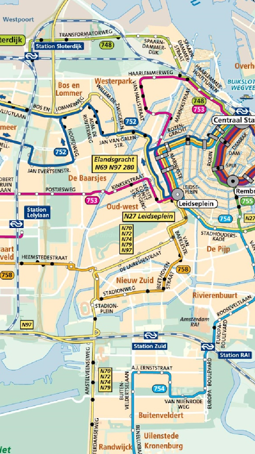 Amsterdam Night Bus Map Android Apps On Google Play - Amsterdam night bus map