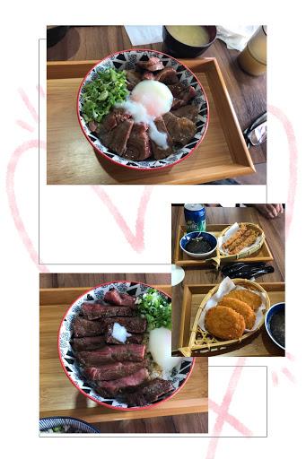 雙牛肉套餐還➕送小菜跟飲料