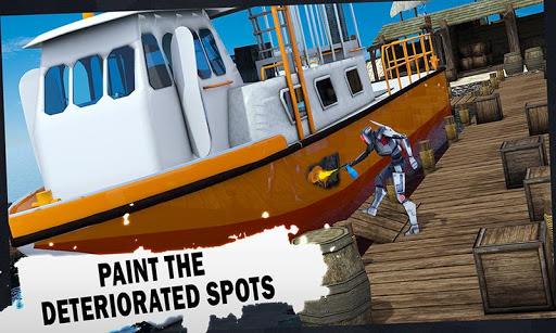 未来派机器人船技工