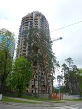 Photo: Výstavba Kyjeva v plném proudu.