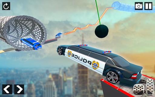 Police Limo Car Stunts - Mega Ramp Car Racing Game android2mod screenshots 6