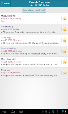 android Family Med Question of the Day Screenshot 13