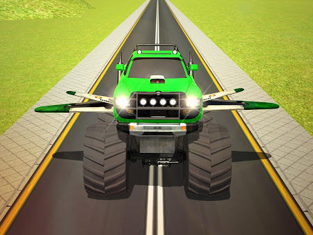 Flying Truck Pilot Driving 3D 1.1 screenshot 2088521