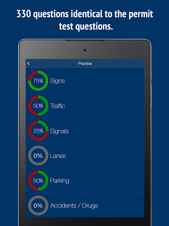 Florida Learners Permit >> Florida DMV Permit Test -Fl - Android Apps on Google Play