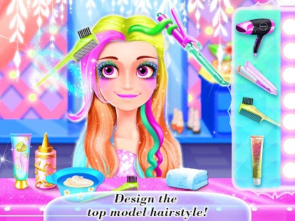 Beauty Salon Girls Games Android Apps On Google Play - Barbie hairstyle design game