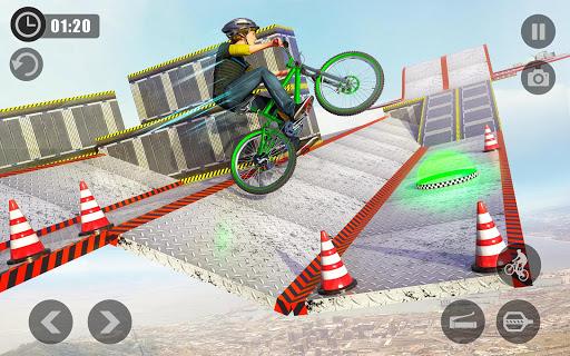 Extreme BMX Cycle Stunts Impossible Tracks 1.0 screenshots 2