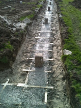 Photo: Fundering: Beton gestort