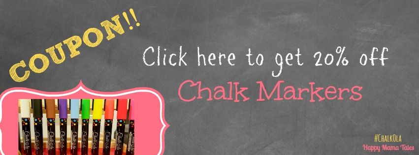 12 fun things you can do with chalkboard markers coupons inside second you could click on the image below to get the coupon code for the best chalk makers on the planet this coupon code works for both the jumbo size fandeluxe Images