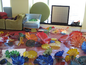 Photo: More persians -- my living room looked like a glass flower garden -- there was one spot where you could see Chihuly art glass for 270 degrees of your view.