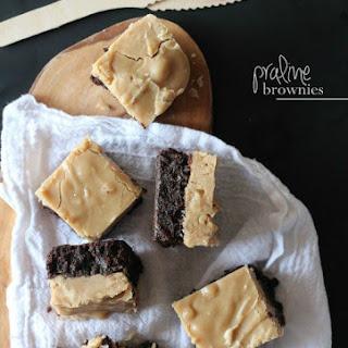 Praline Brownies.