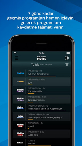 Tivibu GO for Android apk 4
