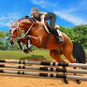 Horse Riding Simulator 3D : Jockey Mobile Game icon