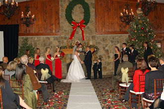 Photo: Christmas Wedding in The James Room