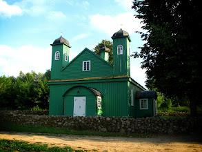 Photo: Meczet tatarski w Kruszynianach. Zbudowali go polscy górale, którzy tak sobie meczet wyobrażali.