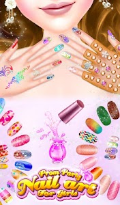 Prom Party Nail Art For Girls v1.0.3